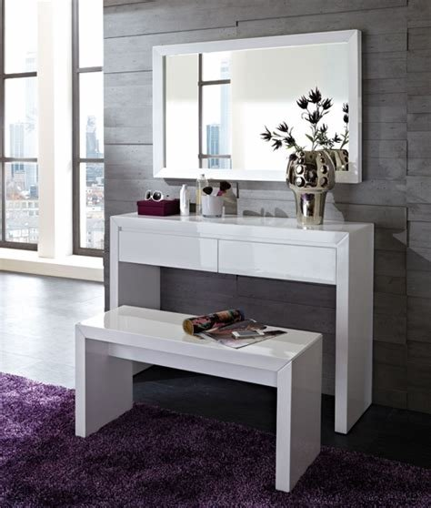 Best Fino Console Table In High Gloss White With 2 Drawers 18376 With Pictures