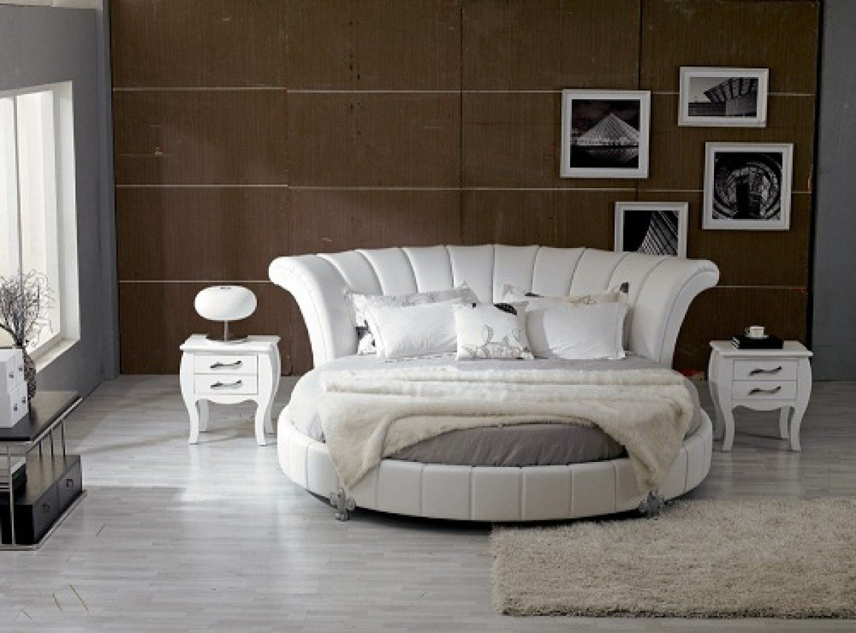 Best Pianigiani Contemporary Round Bed Los Angeles With Pictures