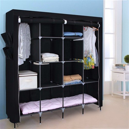 Best Portable Bedroom Wardrobe Clothes Storage Closet With Pictures