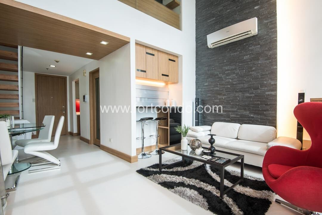 Best One Bedroom Loft Condo For Sale At Fort Bonifacio Global City With Pictures