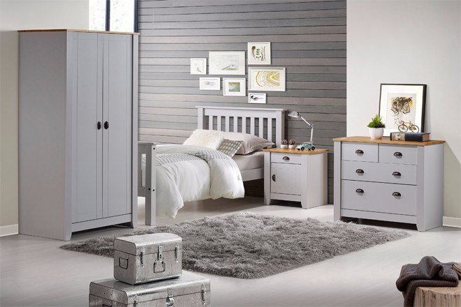 Best The Orlando Bedroom Set In White Or Grey Jt Rewards With Pictures