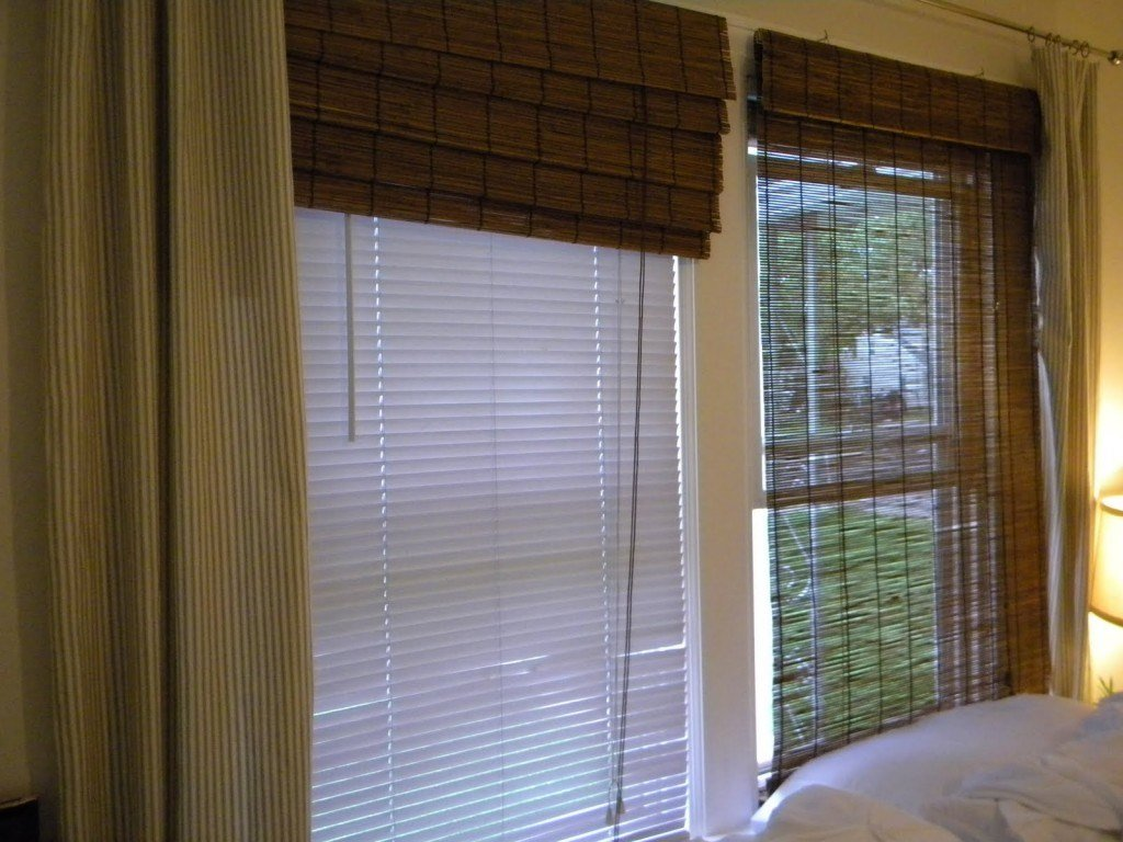 Best Charming Bamboo Window Blinds Home Depot For Your Badroom Decor Popular Home Interior Decoration With Pictures