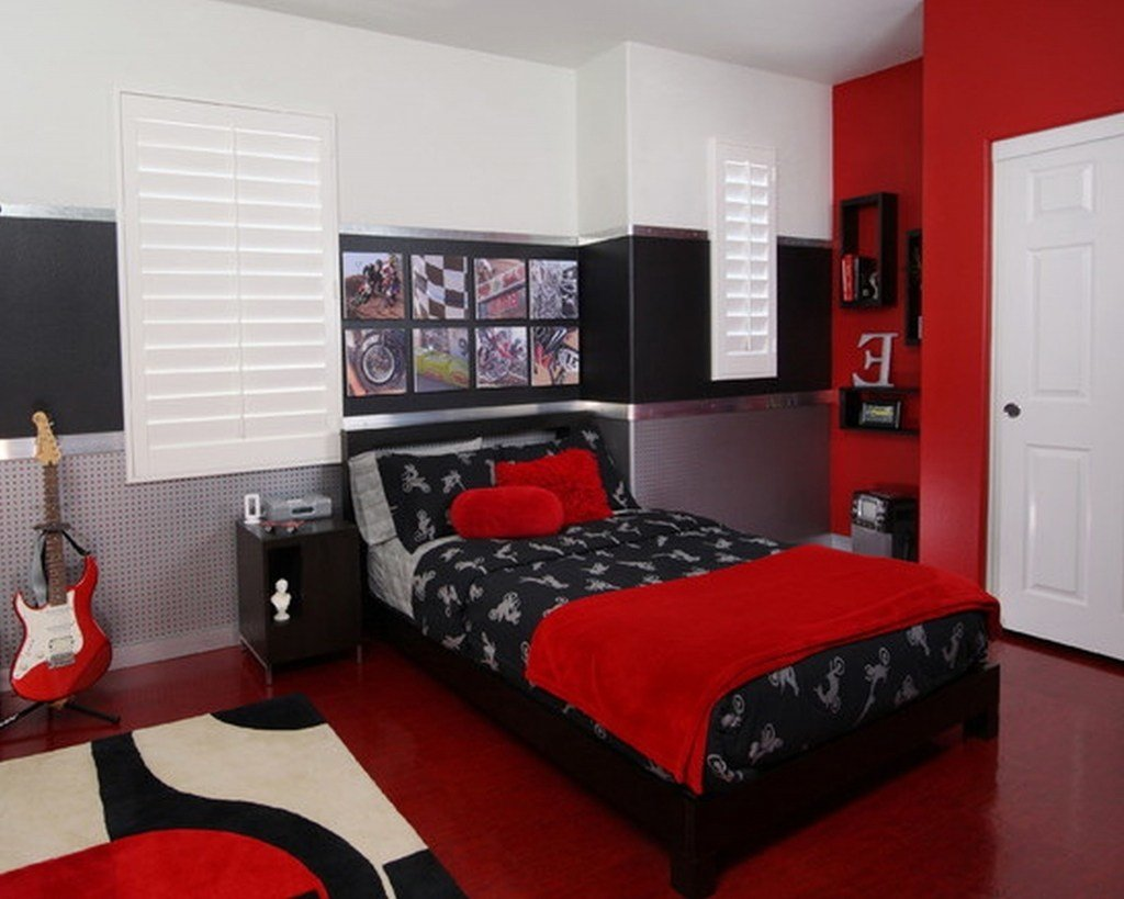 Best Black And Red Bedroom Sets Bestsciaticatreatments Com With Pictures
