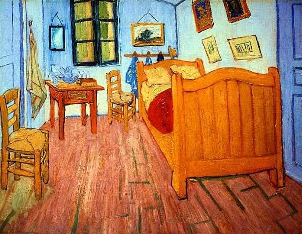 Best Arts Food®™ Closely Looking At Van Gogh S Bedroom At With Pictures
