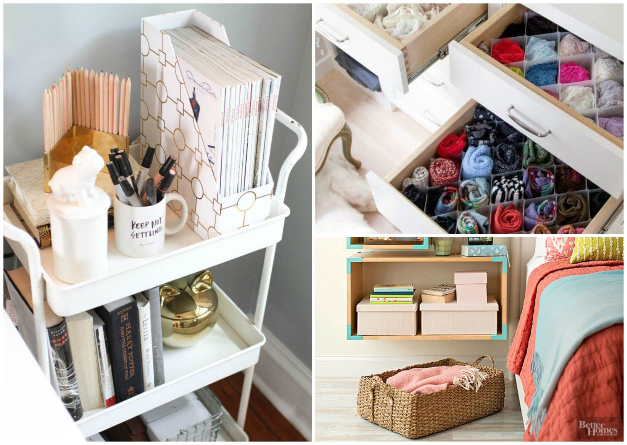 Best 9 Super Efficient Ways To Organize Your Small Bedroom With Pictures