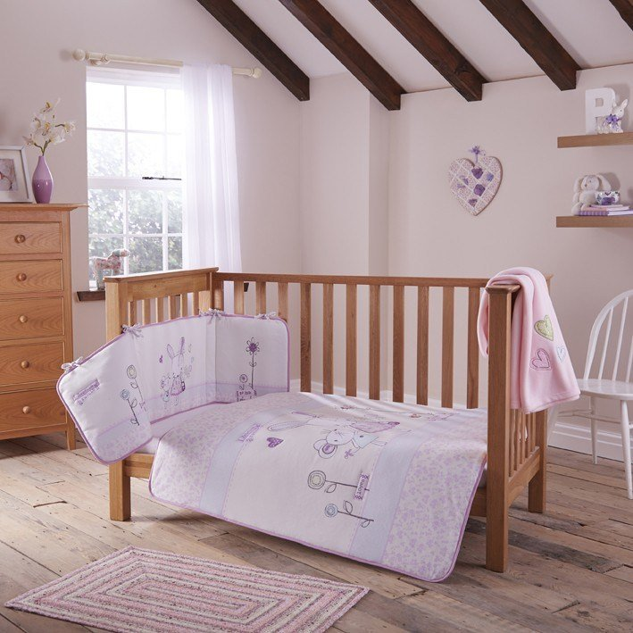 Best Rebecca Rabbit 4 Piece Bedding Bale With Pictures
