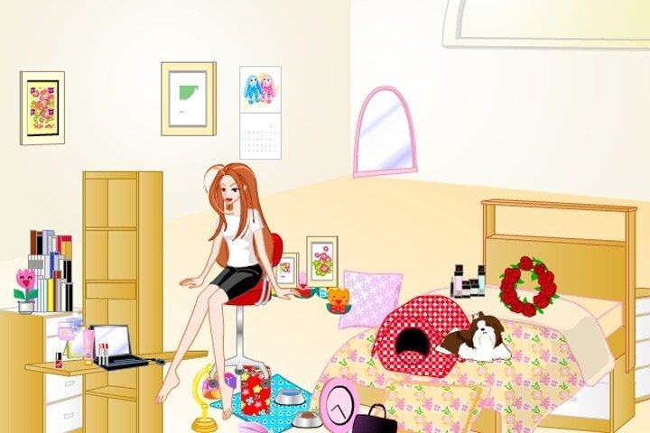 Best Barbie Bedroom Makeover Game Decorating Games Games Loon With Pictures