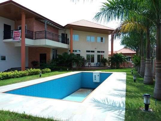 Best 5 Bedroom House With Swimming Pool For Sale At Trasacco Houses For Sale Houses For Rent In Ghana With Pictures