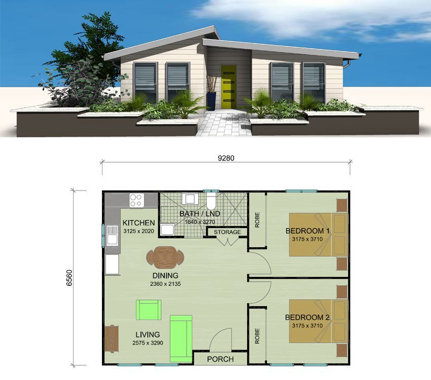 Best Telopea Granny Flat Designs Plans 2 Bedroom Granny With Pictures