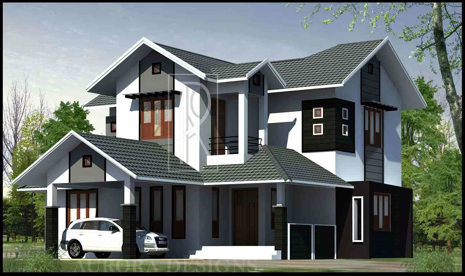 Best Latest Kerala Style Home Design At 2169 Sq Ft With Pictures