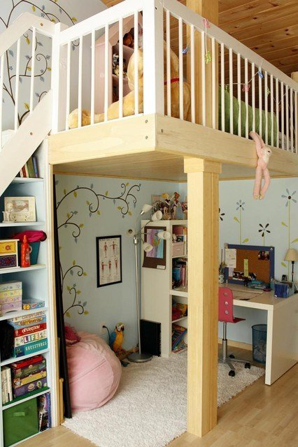 Best 20 Great Loft Bed Design Ideas For Small Kids Bedrooms With Pictures