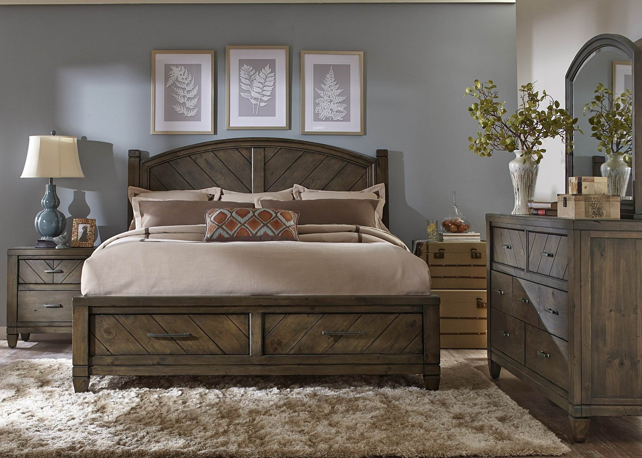 Best Bedroom Remarkable Rustic Bedroom Sets With Magnificent With Pictures