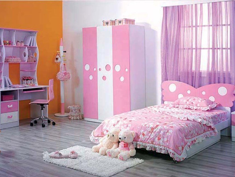 Best Cute Pink Bedroom Design For Girls 4 Home Ideas With Pictures