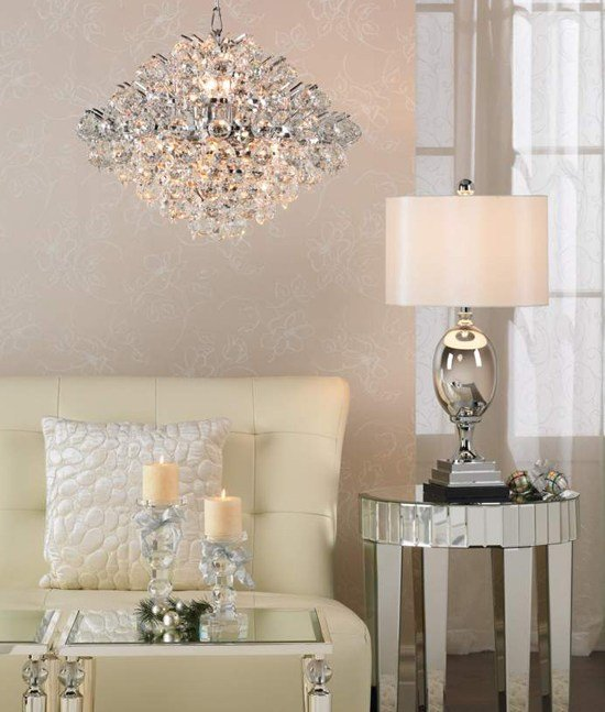 Best Bedroom Chrome Crystal Pendant Chandelier Advice For With Pictures