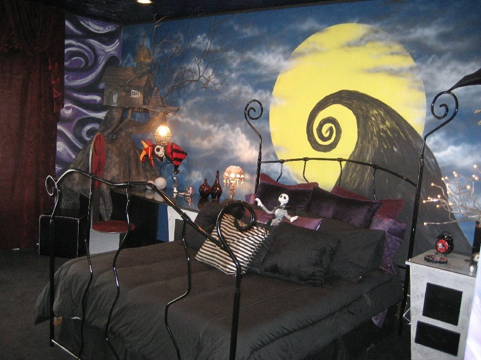 Best Nightmare Before Christmas Themed Bedroom « Horrific Finds With Pictures