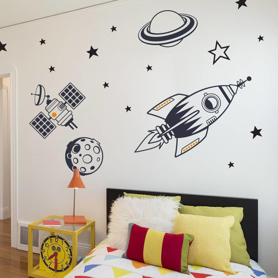 Best How To Decor Kids Wall Stickers For Bedroom Optimum Houses With Pictures