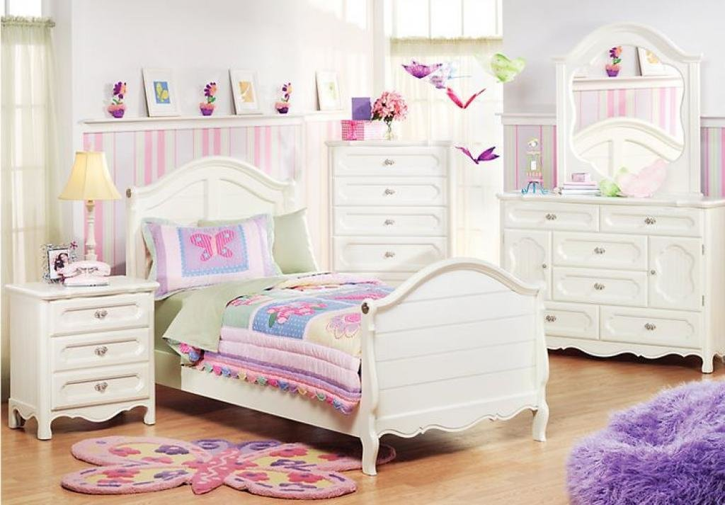 Best You Can Find Here About Girls White Bedroom Furniture Home Inspiring With Pictures