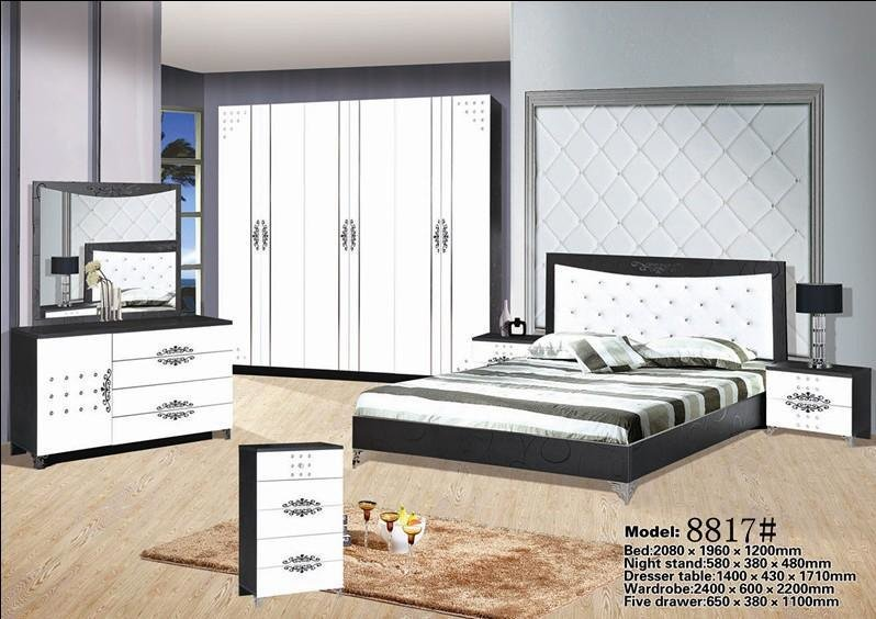 Best China High Quality Mdf Bedroom Furniture With Low Price With Pictures