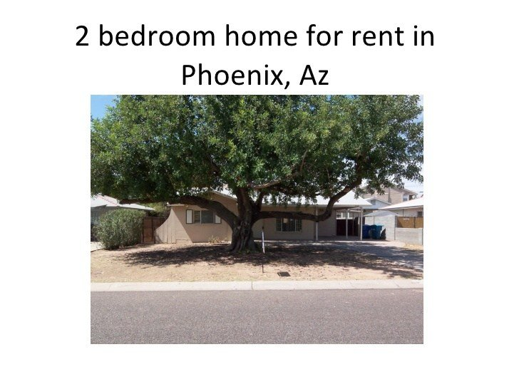 Best 2 Bedroom Home For Rent In Phoenix Hubbell With Pictures