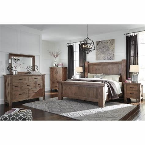 Best Signature Design By Ashley Tamilo California King Bedroom With Pictures