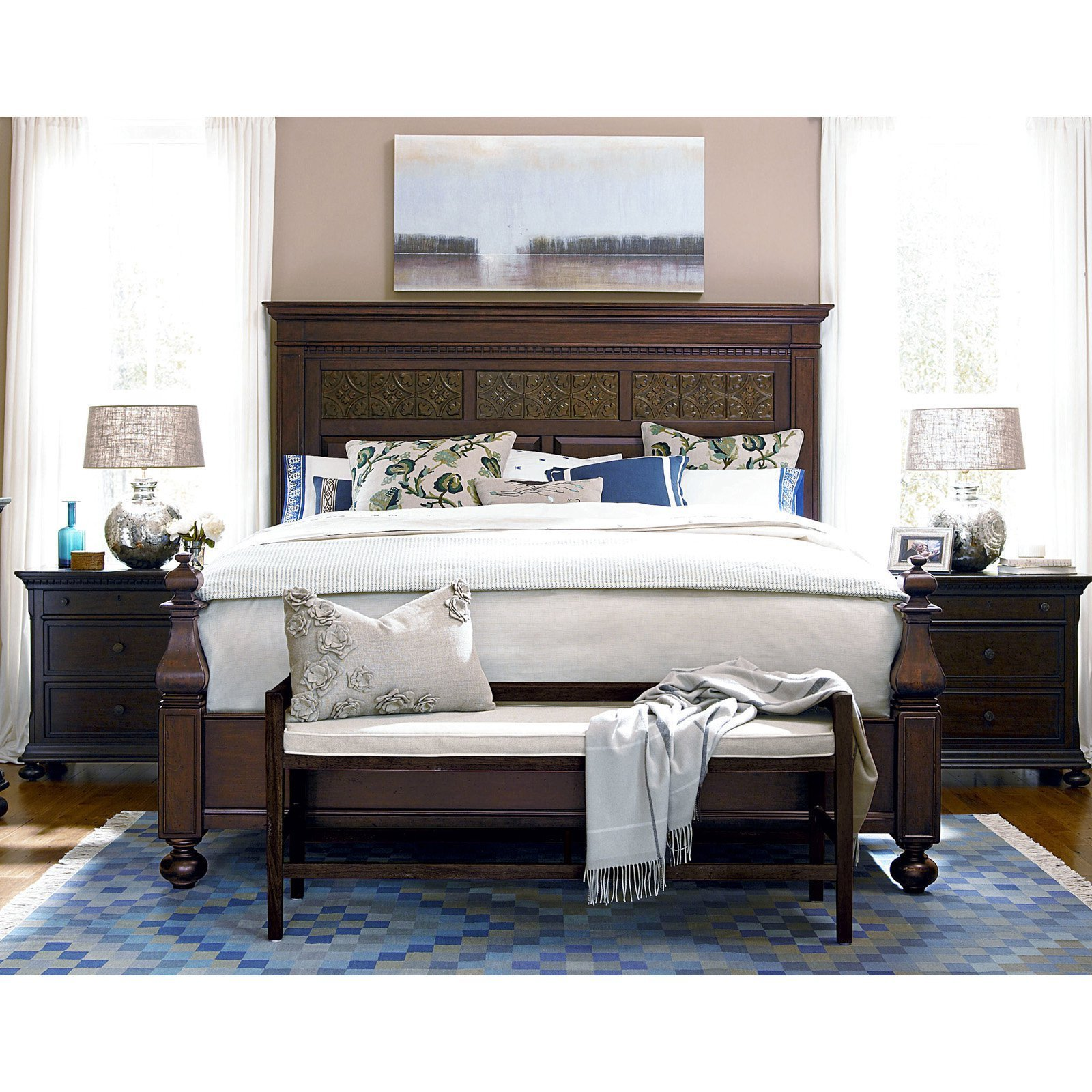Best Paula Deen Down Home Aunt Peggys Panel Bed Beds At Hayneedle With Pictures