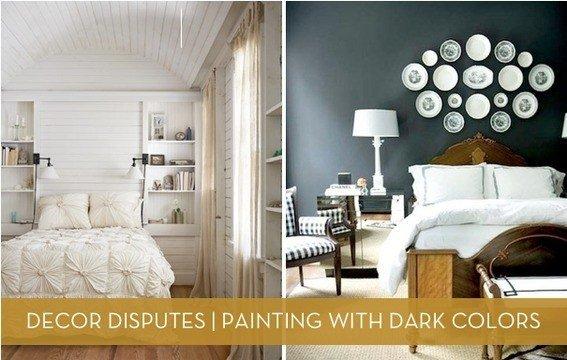Best Decor Disputes Does Dark Paint Make A Room Feel Smaller With Pictures