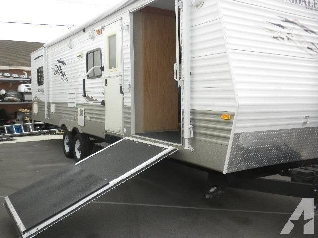 Best 2008 Keystone Springdale 290Ct Toy Hauler 2 Bedroom For With Pictures