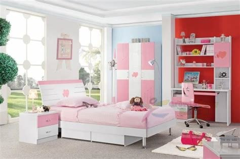 Best Cheap Good Quality Pink Color Girls Wholesale Kids Bedroom With Pictures