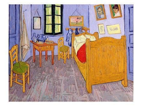 Best Van Gogh S Bedroom At Arles 1889 Giclee Print By Vincent With Pictures