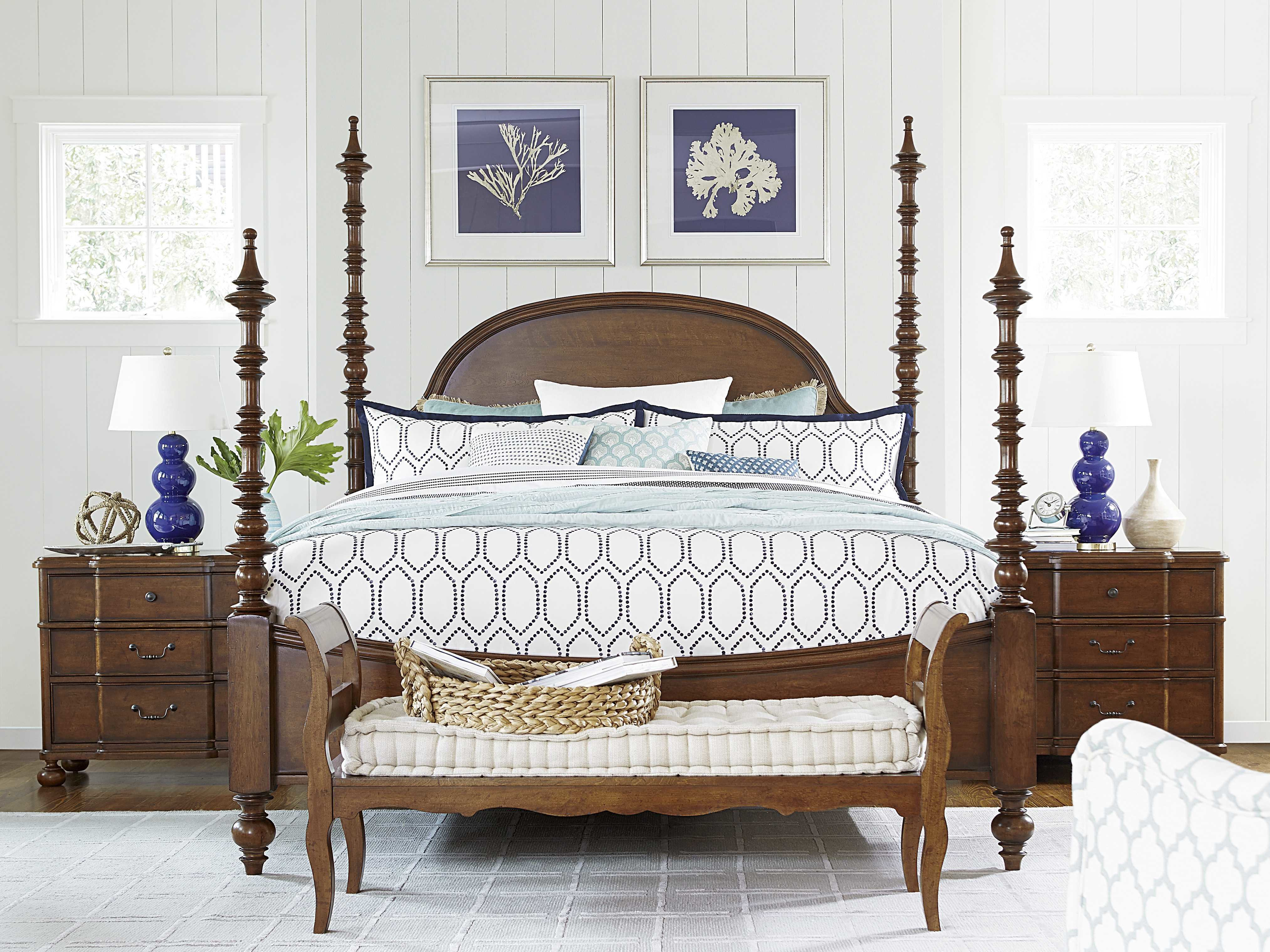 Best Paula Deen Home Dogwood Low Tide Poster Bed Bedroom Set With Pictures