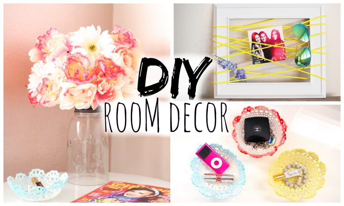 Best Diy Room Decor For Cheap Simple Cute Youtube With Pictures