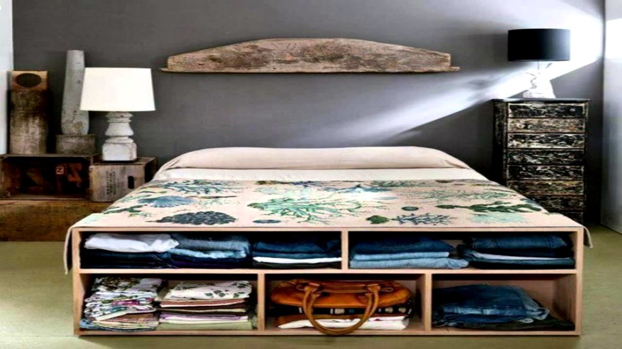 Best 44 Smart Bedroom Storage Ideas Youtube With Pictures