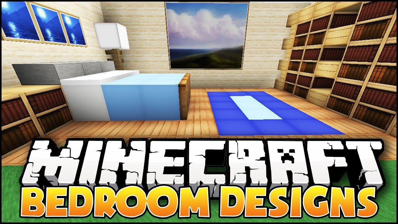 Best Minecraft Nice Bedroom Designs Ideas Youtube With Pictures