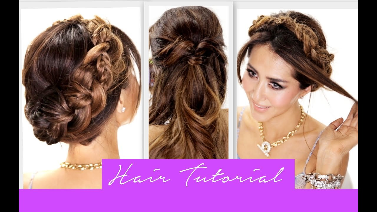 Free 3 Amazingly Easy Back To School Hairstyles Cute Braids Wallpaper