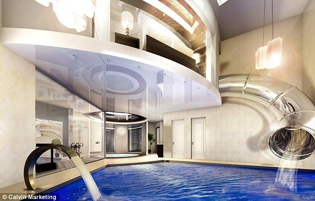 Best Unveiled Britain S First £2M Underground Mansion Designed With Pictures