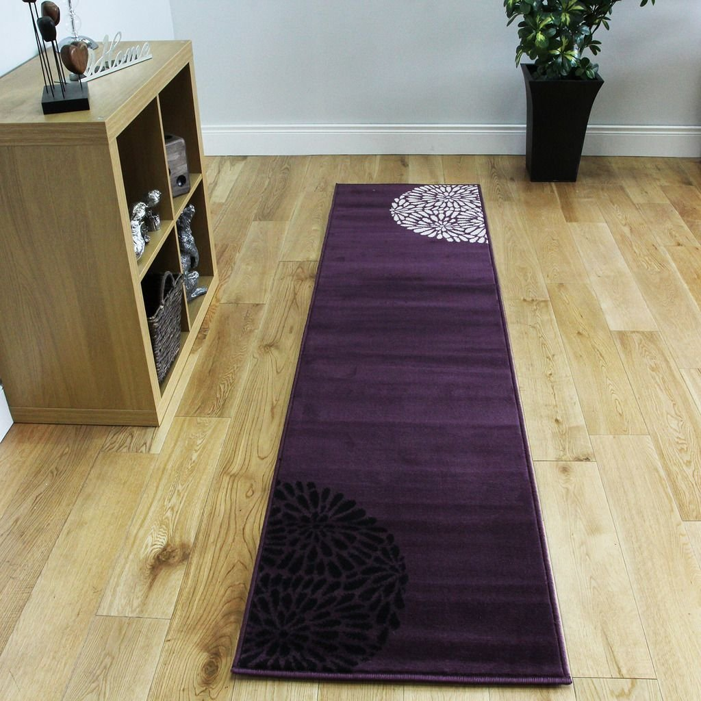 Best Small Large Purple Aubergine Modern Rugs Quality Soft With Pictures