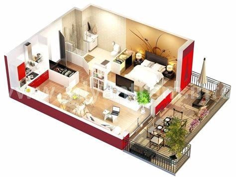 Best Studio House Plans One Bedroom Efficiency Apartments 1 With Pictures