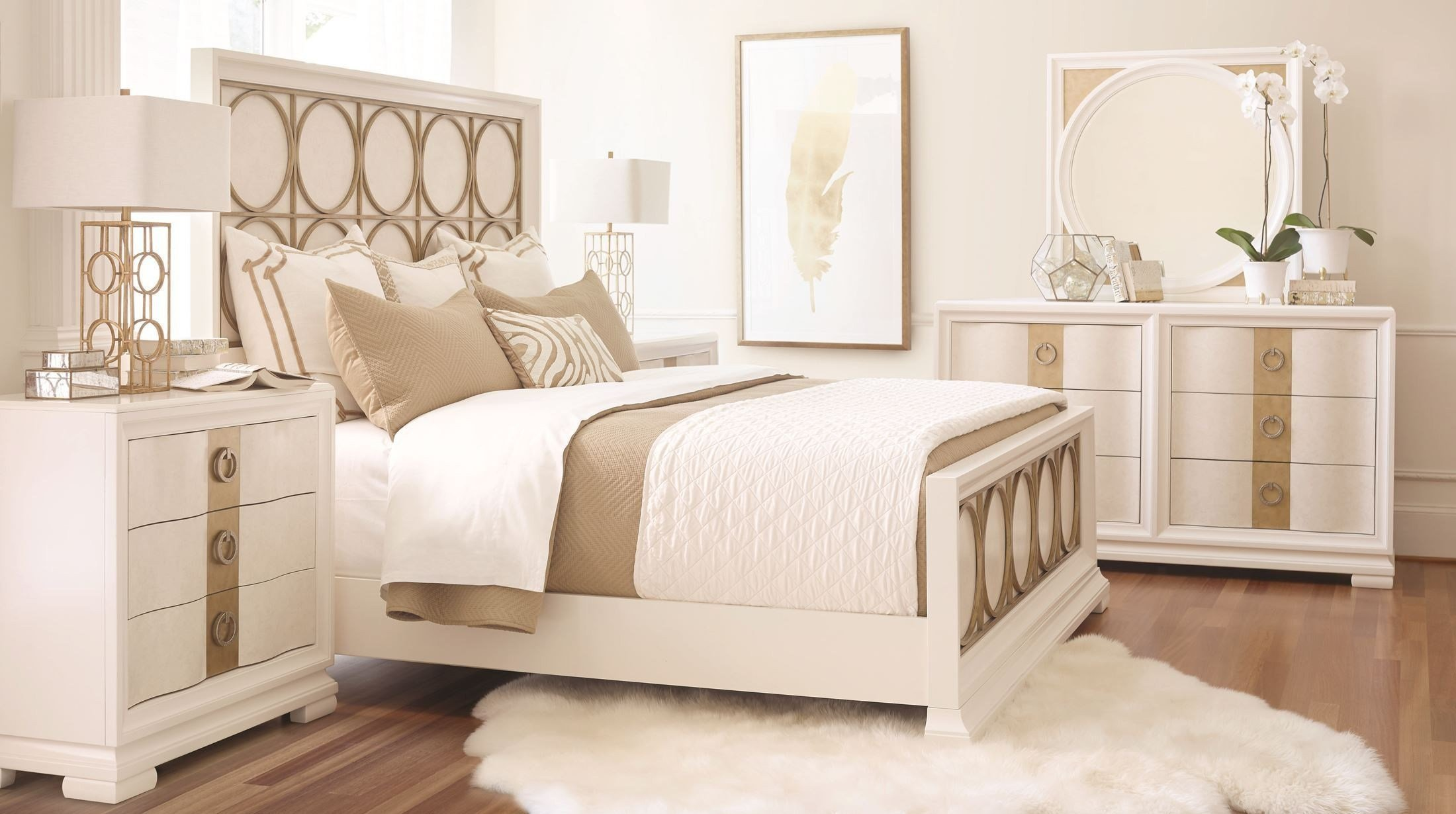 Best Tower Suite Pearl Metal Panel Bedroom Set From Legacy With Pictures