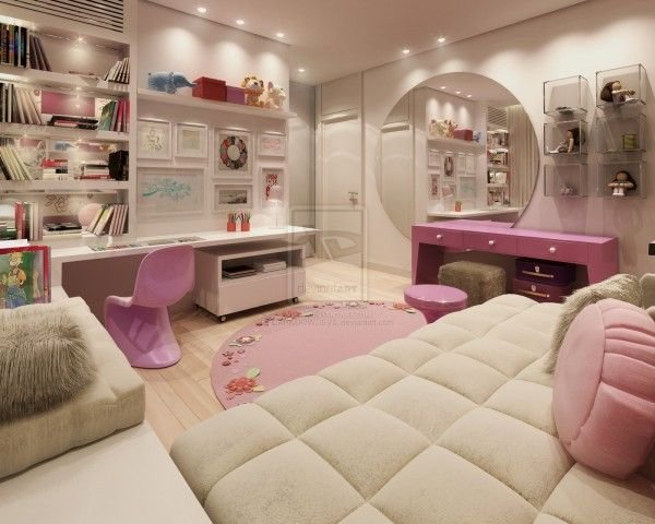 Best 30 Dream Interior Design Ideas For Teenage Girl S Rooms With Pictures