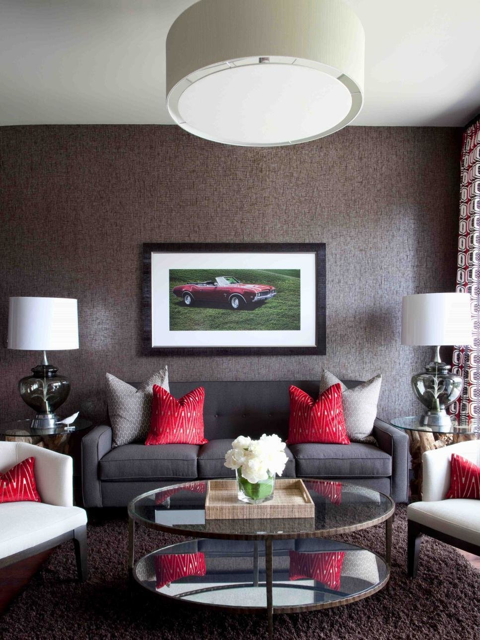 Best High End Bachelor Pad Decorating On A Budget Hgtv With Pictures