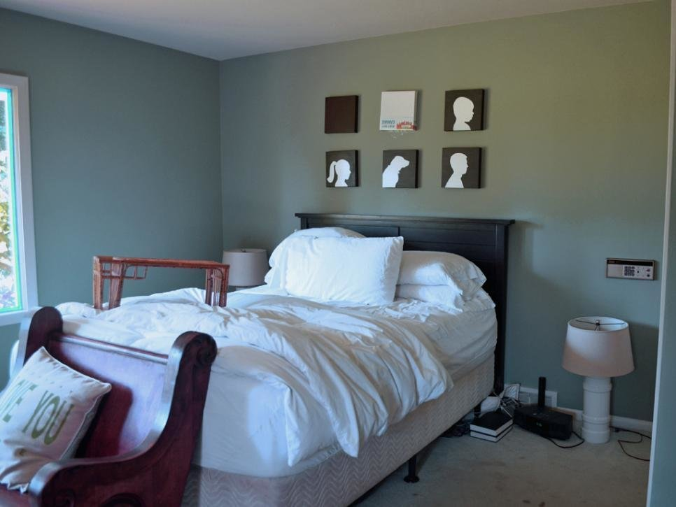 Best A Master Bedroom Makeover Under 150 Hgtv With Pictures