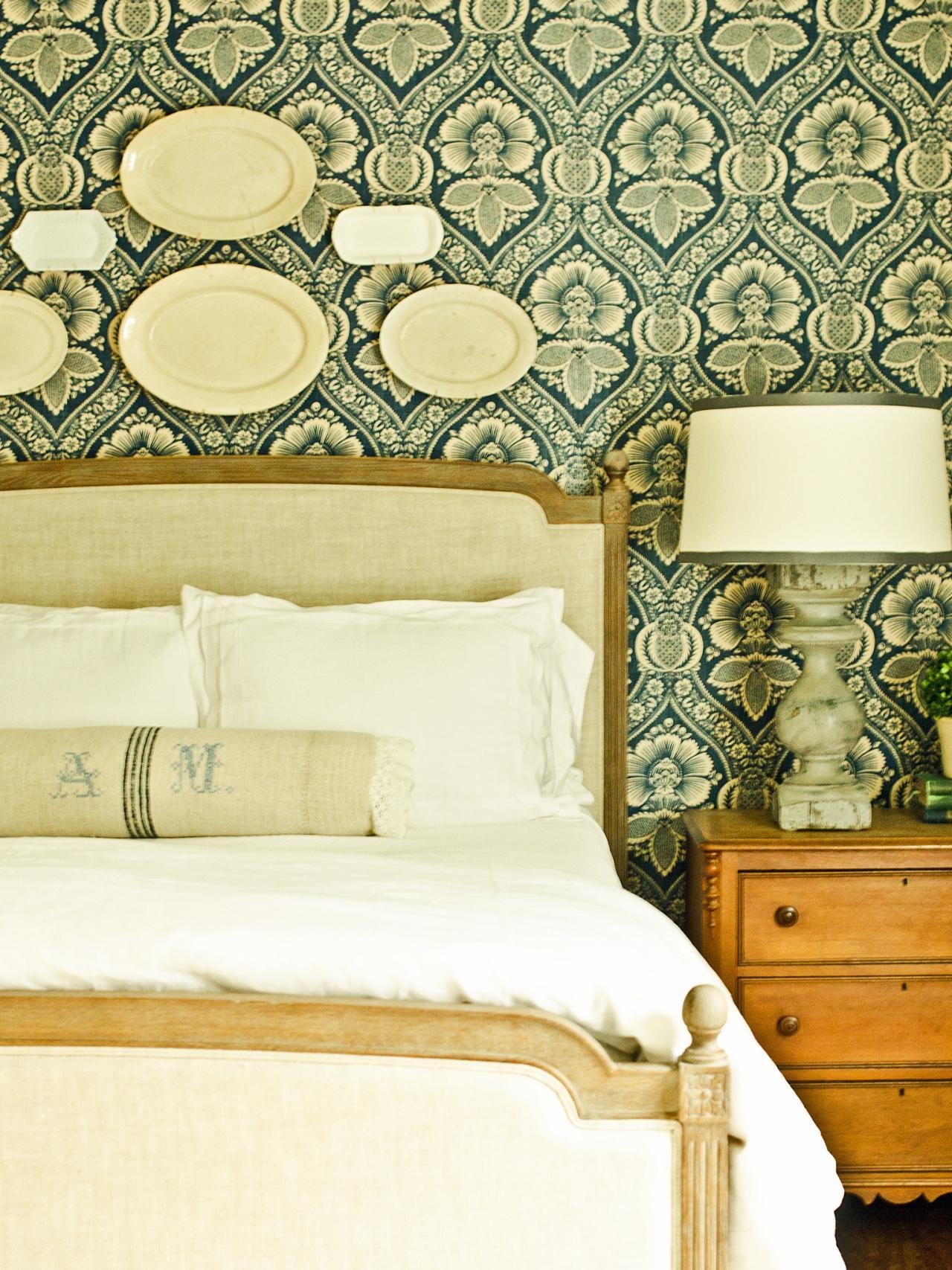 Best How To Install A Fabric Feature Wall Hgtv With Pictures