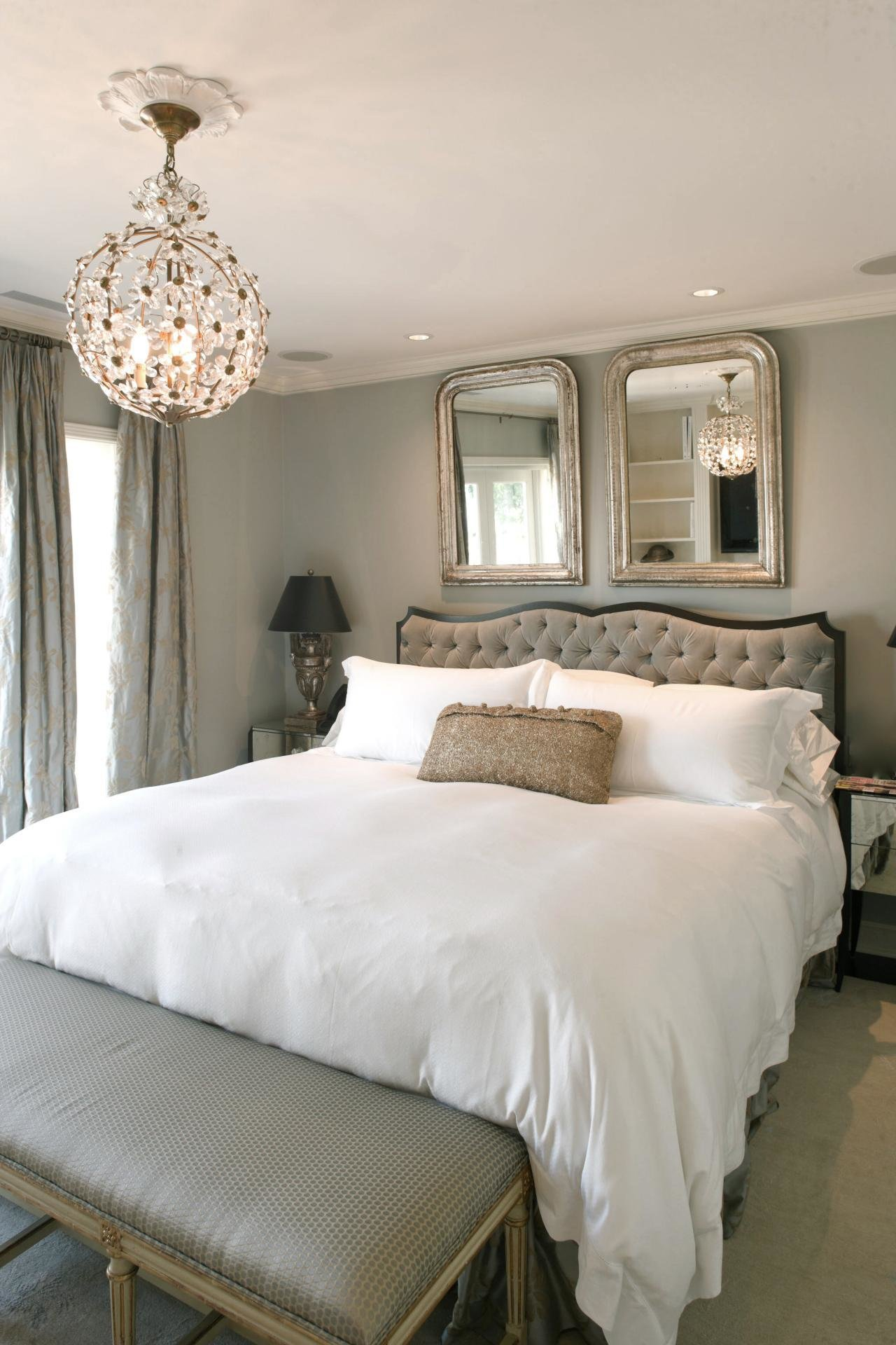Best Gray Master Bedroom Photos Hgtv With Pictures