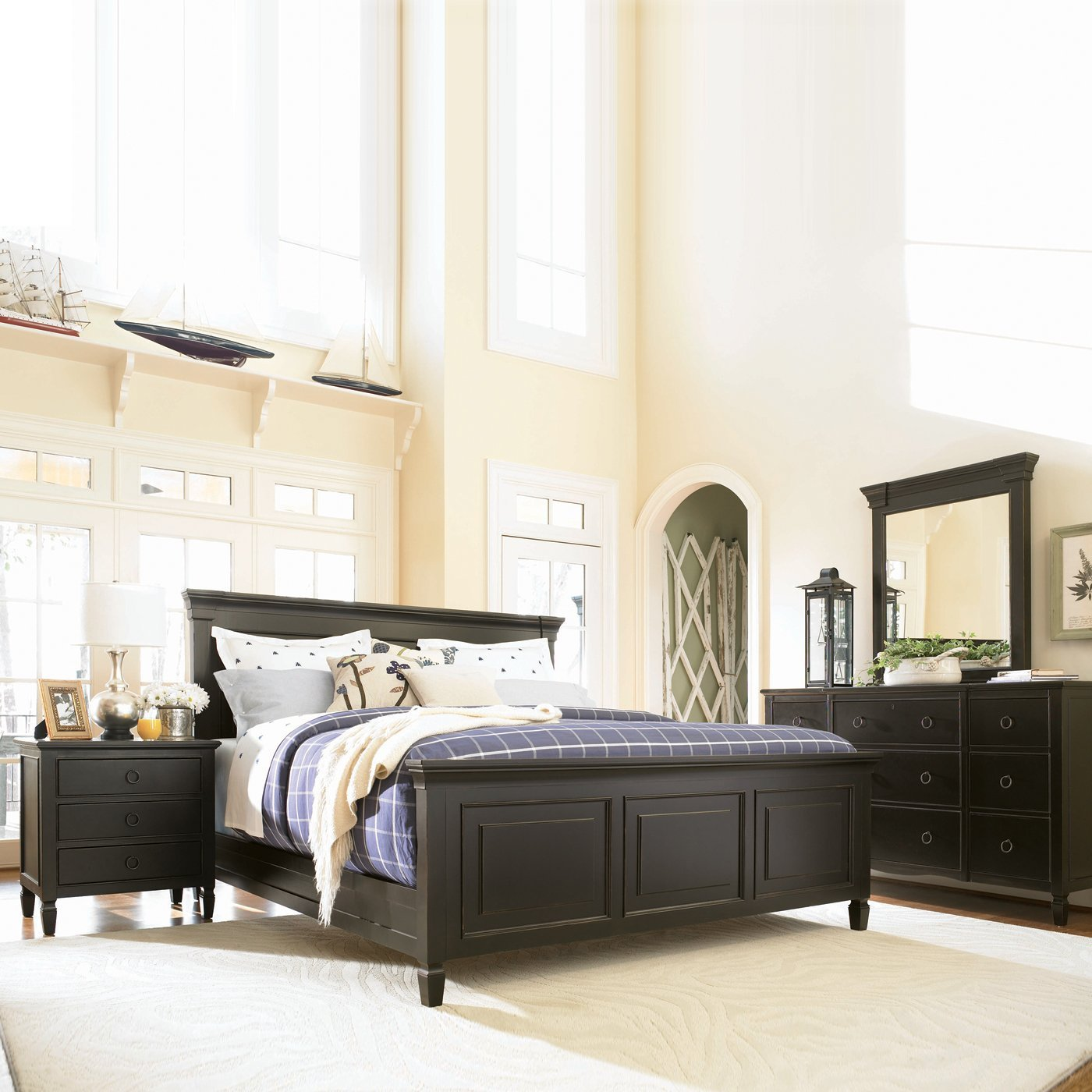 Best Universal Furniture Summer Hill Panel Bedroom Set With Pictures