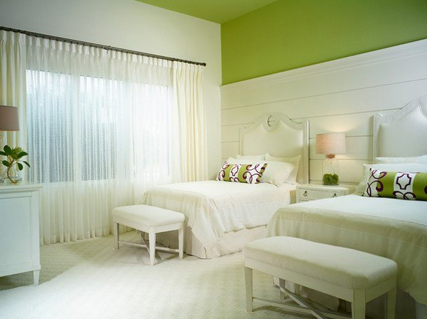 Best 20 Wishfully Beautiful White And Green Bedrooms Home Design Lover With Pictures