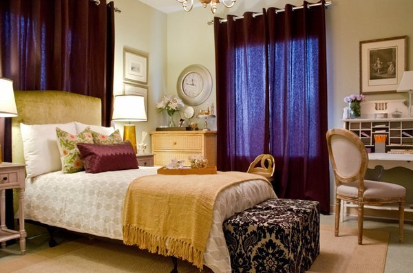 Best 20 Pleasant Purple And Gold Bedrooms Home Design Lover With Pictures