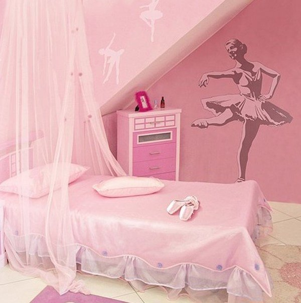 Best Pink Bedroom Theme With Ballerina Ideas With Pictures