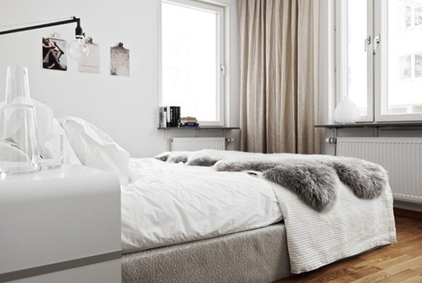 Best 55 Cool And Comfy Scandinavian Bedroom Designs Home With Pictures