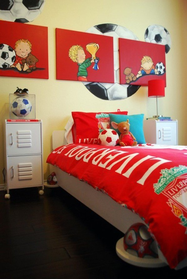 Best Kids Soccer Bedroom Ideas With Pictures