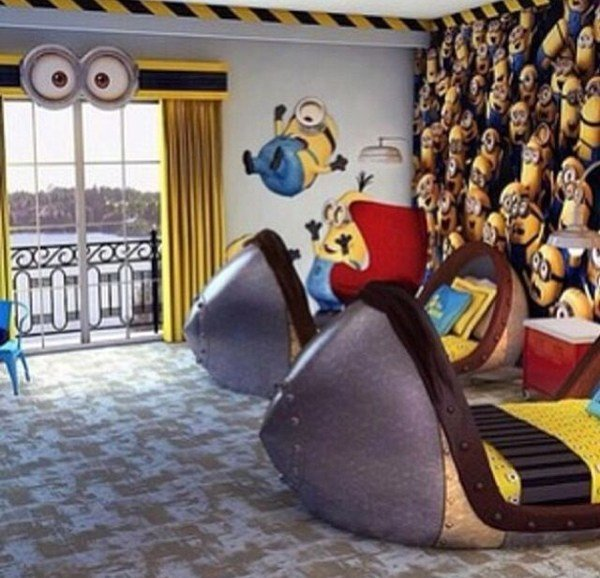 Best Kids Bedroom Ideas With Minion Theme Home Design And With Pictures